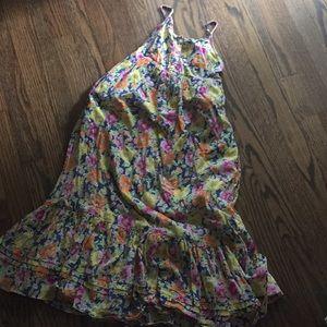 Ralph Lauren floral girls dress